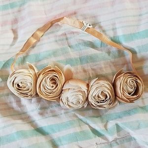 free people dusty rose headband